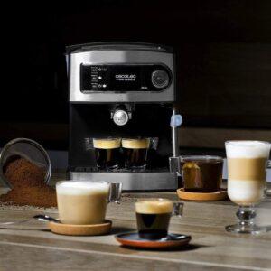 Con cafetera cecotec prepara cafe, te capuchino