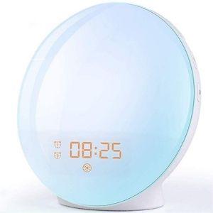 Despertador LED efecto amanecer