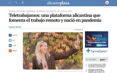Clipping de prensa de Teletrabajamos