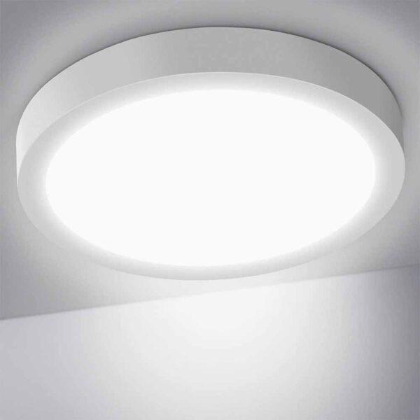 OUSFOT Lámpara de Techo Plafón LED Techo 24W